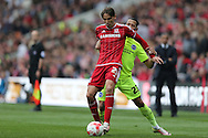 Middlesbrough FC midfielder Gaston Ramirez during the Sky Bet Championship match between Middlesbrough and Brighton and Hove Albion at the Riverside Stadium, Middlesbrough, England on 7 May 2016.
