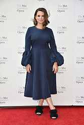 September 24, 2018 - New York, NY, USA - September 24, 2018  New York City..Katie Lowes attending Metropolitan Opera Opening Night at Lincoln Center on September 24, 2018 in New York City. (Credit Image: © Kristin Callahan/Ace Pictures via ZUMA Press)