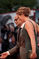 Actor Stanley Tucci and Felicity Blunt at the gala screening for the film Spotlight at the 72nd Venice Film Festival, Thursday September 3rd 2015, Venice Lido, Italy.