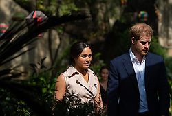 File photo dated 02/10/19 of the Duke and Duchess of Sussex attending a creative industries and business reception, at the British High Commissioner's residence, in Johannesburg, South Africa, on day 10 of their tour of Africa.