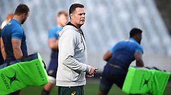 Cape Town-180619 Springbok coach Rassie Erasmus  during his team  training session at Cape Town stadium,the team is preparing for the last test  against England at Newslands on Saturday..Photographer:Phando Jikelo/African News Agency/ANA