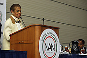 April 17, 2012 Washington, D.C: District of Colombia Congresswoman Eleanor Holmes Norton (Honoree) attends Rev. Al Sharpton's  2012 National Action Network Convention held at the Walter E. Washington Convention Center from April 11-14, 2012 in Washington, D.C ...National Action Network (NAN) is one of the leading civil rights organizations in America and is at the forefront of the social justice movement, confronting issues such as police misconduct and abuse, voter rights, education, workers' right, healthcare awareness, anti-violence and more. Founded in New York City in 1991 by Rev. Al Sharpton and a group of activists, NAN is committed to the principles of nonviolent activism and civil disobedience as a direct outgrowth of the movement that was lead by the Rev. Dr. Martin Luther King, Jr. .(Photo by Terrence Jennings).