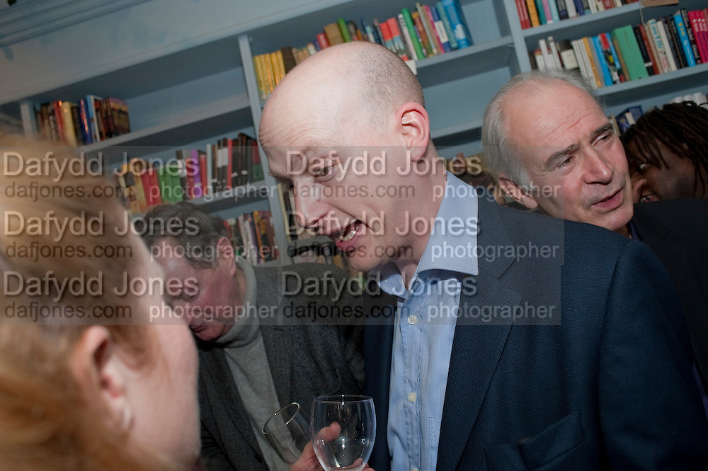 HARRY MOUNT, Launch of a new book series by Notting Hill Editions. The Idler Academy. Wetbourne Park Rd. London. 14 December 20911.