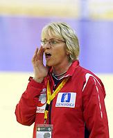 05.12.2008 Ohrid(FYR Macedonia)<br />Ukraine-Norway European women's handball championship<br />Marit Breivik Norway head coach<br />Foto:Aleksandar Djorovic