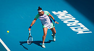 Ons Jabeur of Tunisia in action during the quarter final of the 2020 Australian Open, WTA Grand Slam tennis tournament on January 28, 2020 at Melbourne Park in Melbourne, Australia - Photo Rob Prange / Spain ProSportsImages / DPPI / ProSportsImages / DPPI