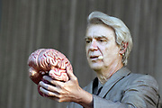 Nederland, Beuningen, Ewijk, 30-6-2018 Festival Down the Rabbit Hole , dtrh . David Byrne, frontman van de voormalige Talking Heads, met zijn van rijke choreografie voorziene live optreden . Foto: Flip Franssen