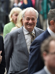 Paul Gambaccini arrives for the Service of Thanksgiving for Sir Terry Wogan at Westminster Abbey, London.