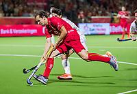 ANTWERPEN - Florent van Aubel (Belgie)    tijdens finale mannen  Belgie-Spanje-,  bij het Europees kampioenschap hockey.  WSP/ KOEN SUYK