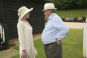 Lady Victoria Getty and Anthony Oppenheim, Guy Leymarie and Tara Getty host The De Beers Cricket Match. The Lashings Team versus the Old English team. Wormsley. ONE TIME USE ONLY - DO NOT ARCHIVE  © Copyright Photograph by Dafydd Jones 66 Stockwell Park Rd. London SW9 0DA Tel 020 7733 0108 www.dafjones.com