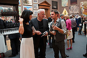 POLLY  SAMSON DAVID GILMOUR; JONATHON YEO, Royal Academy of Arts Summer Exhibition Preview Party 2011. Royal Academy. Piccadilly. London. 2 June <br /> <br />  , -DO NOT ARCHIVE-© Copyright Photograph by Dafydd Jones. 248 Clapham Rd. London SW9 0PZ. Tel 0207 820 0771. www.dafjones.com.