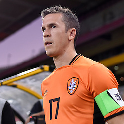 BRISBANE, AUSTRALIA - JANUARY 31: Matt McKay of the Roar walks out during the second qualifying round of the Asian Champions League match between the Brisbane Roar and Global FC at Suncorp Stadium on January 31, 2017 in Brisbane, Australia. (Photo by Patrick Kearney/Brisbane Roar)