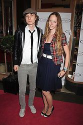 Australian award winning jewellery designer John Calleija and special guest Claudia Schiffer hosted the launch party of Calleija's new London store in the Royal Arcade, Old Bond Street, London on 24th June 2008.<br /><br />Picture shows:-Model MORWENNA LYTTON COBBOLD and MATTHEW LASKEY.