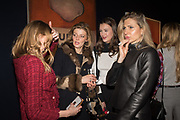 VERONICA BURGESS, JANE BURGESS, SCARLETT CAUDWELL-BURGESS, MAGDALENA WAHID,  The George Michael Collection drinks.  Christie's, King St. London, 12 March 2019