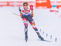01.02.2020, Seefeld, AUT, FIS Weltcup Nordische Kombination, Langlauf, Gundersen 10 Km, im Bild Dominik Terzer (AUT) // Dominik Terzer of Austria during the Gundersen 10 Km Cross Country Competition of FIS Nordic Combined World Cup at the Seefeld, Austria on 2020/02/01. EXPA Pictures © 2020, PhotoCredit: EXPA/ Stefan Adelsberger