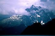 Aialik Peninsula on a foggy morning - Alaska