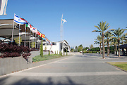 Israel, Tel Aviv, Ganei Hataarucha Convention centre literally meaning Exhibition Garden
