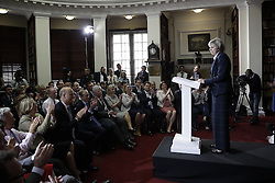 © Licensed to London News Pictures. 30/06/2016. London, UK. Theresa May launches her leadership bid. Boris Johnson is expected to launch his campaign later today.Photo credit: Peter Macdiarmid/LNP
