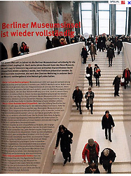Tearsheet from Chronicle of 2009 ; Neues Museum in Berlin - published in Germany