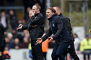 Wycombe Wanderers manager Gareth Ainsworth during the EFL Sky Bet League 1 match between Wycombe Wanderers and Portsmouth at Adams Park, High Wycombe, England on 6 April 2019.