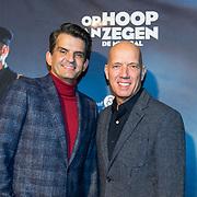 NLD/Zaandam/20190128- première musical Op Hoop van Zegen, Maurice Wijnen en partner