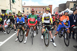 March 15, 2019 - Pomarance, Pisa, Italia - Foto LaPresse/Gian Mattia D'Alberto.15/03/2019 Pomarance (Italia) .Sport Ciclismo.Tirreno-Adriatico 2019 - edizione 54 - da Pomarance.a Foligno  (226 km) .Nella foto: durante la gara...Photo LaPresse/Gian Mattia D'Alberto.March 15, 2018 Pomarance (Italy).Sport Cycling.Tirreno-Adriatico 2019 - edition 54 - Pomarance to.Foligno (140 miglia) .In the pic: during the race. (Credit Image: © Gian Mattia D'Alberto/Lapresse via ZUMA Press)