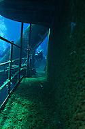 Port side, main deck, USS Kittiwake