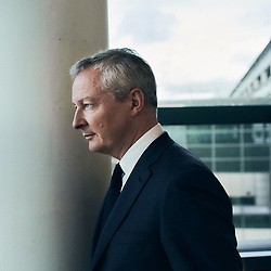 Bruno Le Maire, Minister of the Economy, Finance and Recovery, posing in his office. Paris, France. January 18, 2021. <br /> Bruno Le Maire, Ministre de l'Économie, des Finances et de la Relance, prenant la pose dans son bureau. 18 janvier 2021.
