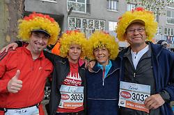 13.04.2014, Wien, AUT, Vienna City Marathon 2014, im Bild Läufer aus der Bundesrepublik Deutschland, Feature // runners from Germany, feature, during Vienna City Marathon 2014, Vienna, Austria on 2014/04/13. EXPA Pictures © 2014, PhotoCredit: EXPA/ Gerald Dvorak