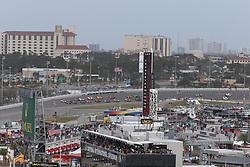 January 27, 2018 - Daytona, FLORIDE, ETATS UNIS - 10 KONICA MINOLTA CADILLAC DPI VR CADILLAC DPI (USA) JORDAN TAYLOR (USA) RENGER VAN DER ZANDE (NLD) RYAN HUNTER REAY (USA) START OF THE RACE (Credit Image: © Panoramic via ZUMA Press)
