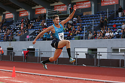Massin Ait Bouazid. Danmarksmesterskaber i atletik, Odense, 3. august 2014.