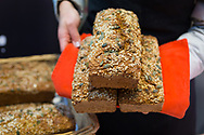 hand made bread for sale at St. George's Market in Belfast, Northern Ireland