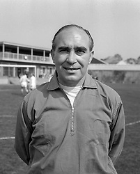England World Cup manager Alf Ramsey. He has been named in the New Year honours list to become a Knight.