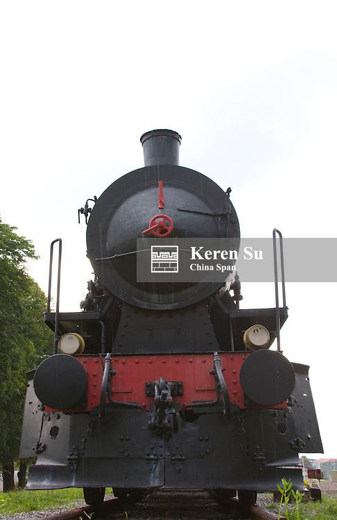 Old steamer train, Postojna, Slovenia