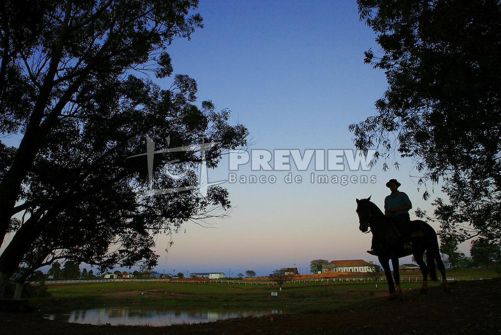 Cavalarianos depois do rodeio em Encruzilhada do Sul.<br /> Foto: Jefferson Bernardes/Preview.com