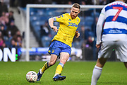Leeds United Midfielder Adam Forshaw (4) during the The FA Cup match between Queens Park Rangers and Leeds United at the Loftus Road Stadium, London, England on 6 January 2019.