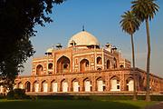 The tomb of the Mughal Emperor Humayun, New Delhi, India