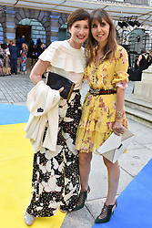Kristin Scott Thomas and Henrietta Conrad at the Royal Academy Of Arts Summer Exhibition Preview Party 2018 held at The Royal Academy, Burlington House, Piccadilly, London, England. 06 June 2018.