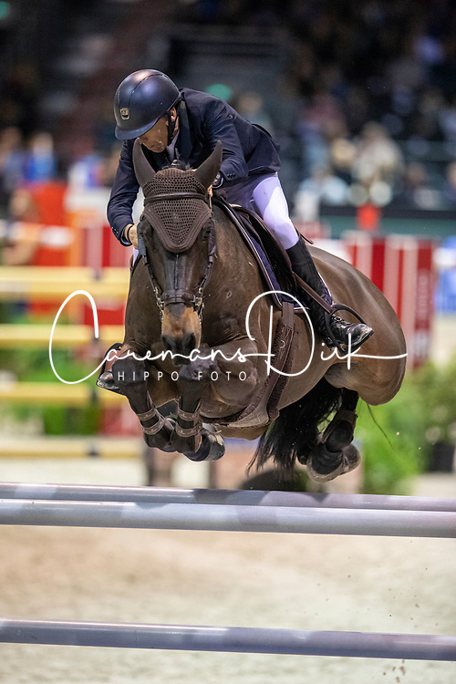 Vermeir Wilm, BEL, IQ van het Steentje<br /> Jumping International de Bordeaux 2020<br /> © Hippo Foto - Dirk Caremans<br />  08/02/2020