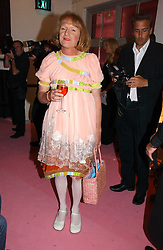 Artist GRAYSON PERRY at a dinner hosted by Harpers Bazaar to celebrate the launch of the fragrance Flowerbomb by Viktor & Rolf held at Elms lester, Flitcroft Street, London WC2 on 31st May 2006.<br /><br />NON EXCLUSIVE - WORLD RIGHTS