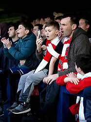 Charlton Athletic fans in the stands