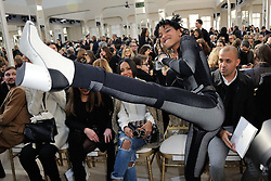 Willow Smith and Jada Pinkett Smith attending the Chanel show as part of the Paris Fashion Week Womenswear Fall/Winter 2016/2017 on March 8, 2016 in Paris, France. Photo by Alban Wyters/ABACAPRESS.COM