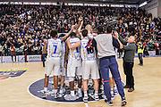 Team Banco di Sardegna Dinamo Sassari<br /> Banco di Sardegna Dinamo Sassari - Pasta Reggia Juve Caserta<br /> LegaBasket Serie A 2016/2017<br /> Sassari 08/01/2017<br /> Foto Ciamillo-Castoria