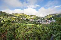 Banaue City, Ifugao Province, Cordilleras, Philippines - Banaue rice terraces are quite a stunning sight - built by the Ifugao people. Banaue City is located in Ifugao province, namesake of the local tribe.  The Ifugao have been building rice terraces for thousands of years and continue to do so.  Unlike other great wonders of the world, the rice terraces are still in use and functioning as they were originally intended.   The rice terraces are also not just located in Banaue proper, but are spread out for miles.