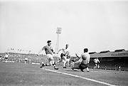 24/05/1964<br /> 05/24/1964<br /> 24 May 1964<br /> Soccer International: Ireland v England at Dalymount Park, Dublin. England won the game 3-1.