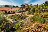 Carmel Mission, Carmel, Monterey County, California USA