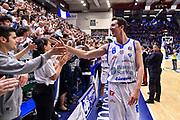 Giacomo Devecchi<br /> Banco di Sardegna Dinamo Sassari - Happy Casa Brindisi<br /> LBA Serie A Postemobile 2018-2019 Playoff Quarti di Finale Gara 1<br /> Sassari, 18/05/2019<br /> Foto L.Canu / Ciamillo-Castoria