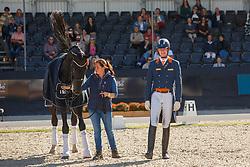 Van Silfhout Diederik, NED, Impression<br /> Nederlands Kampioenschap dressuur<br /> Ermelo 2020<br /> © Hippo Foto - Sharon Vandeput<br /> 20/09/2020