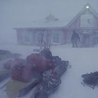 Golomianiyy Weather Station, near Severnaya Zemlya, start of IAP expedition.