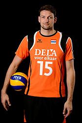 25-04-2013 VOLLEYBAL: NEDERLANDS MANNEN VOLLEYBALTEAM: ROTTERDAM<br /> Selectie Oranje mannen seizoen 2013-2014 / Thomas Koelewijn<br /> ©2013-FotoHoogendoorn.nl