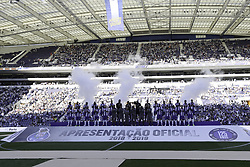 July 28, 2018 - Porto, Porto, Portugal - FC team during the Official Presentation of the FC Porto Team 2018/19 match between FC Porto and Newcastle, at Dragao Stadium in Porto on July 28, 2018. (Credit Image: © Dpi/NurPhoto via ZUMA Press)